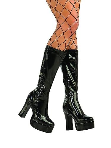 6a5b1b8def6b0 Amazon.com: Black Gogo Boots Small: Shoes