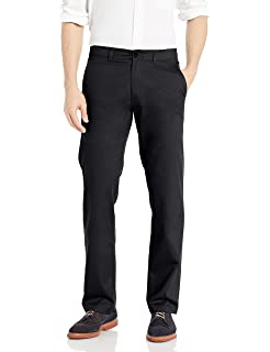 USED Men/'s Haggar in Motion Straight Fit Sustainable Stretch Chino Pants