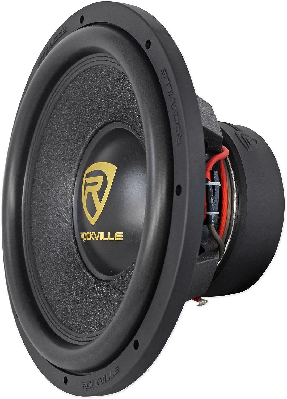 Rockville W15K9D2 15 5000 Watt Car Audio Subwoofer+Sealed Sub Box Enclosure