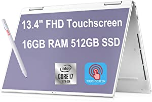 Flagship 2021 Dell XPS 13 7390 2 in 1 Laptop Computer 13.4