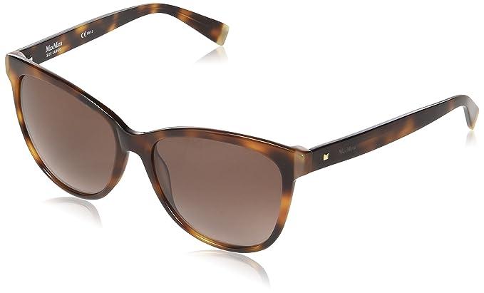 Max Mara Mm Thin JD 05L 58, Gafas de sol para Mujer, Marrón ...