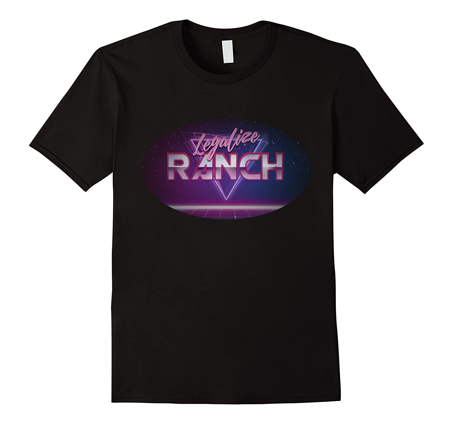 Legalize Ranch 80's T-shirt-FL