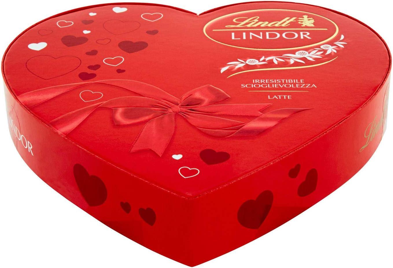 Lindt - Bombones Lindor - Caja con forma de corazón - Ideal como ...