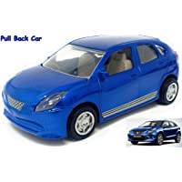 TANMAN TOYS Push Back Maruti Nexa Baleno Car Toy, Speedy Wheels High Speed Scaled Model Miniature car Toy for Kids Boys and Girls
