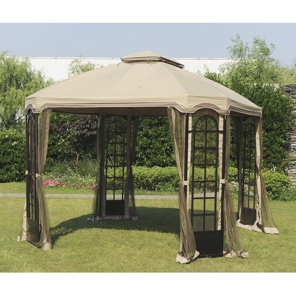 Sunjoy Replacement Canopy Set for 12x10ft Terrace Gazebo