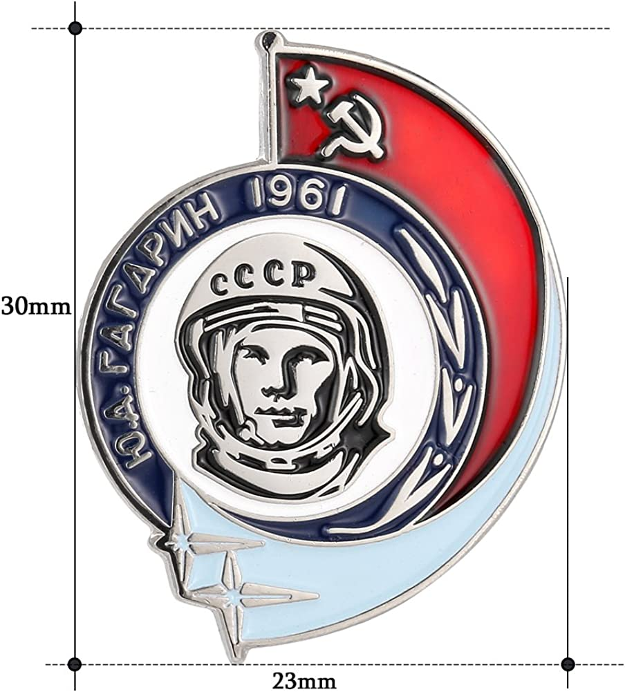 Gudeke Pin/'s Motif Youri Gagarine