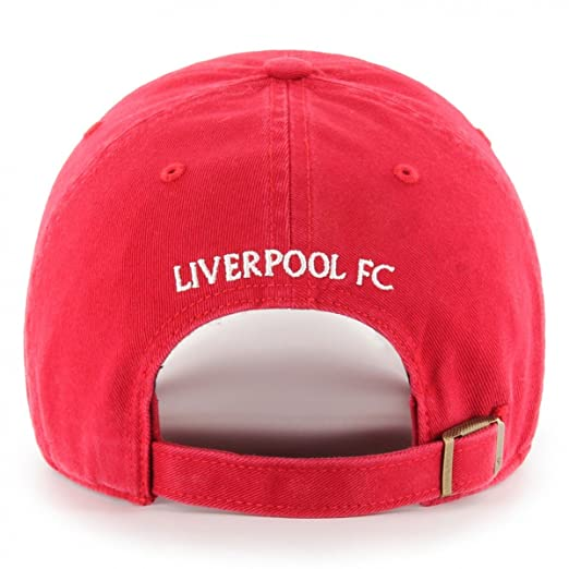 818e6a215c8 Liverpool FC 47 Autumn-Winter 2017 Mens Red Clean Up 125 Cap LFC Official  Store  Amazon.co.uk  Clothing
