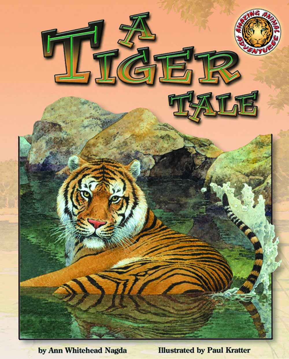 A Tiger Tale - An Amazing Animal Adventures Book (Mini book) pdf epub