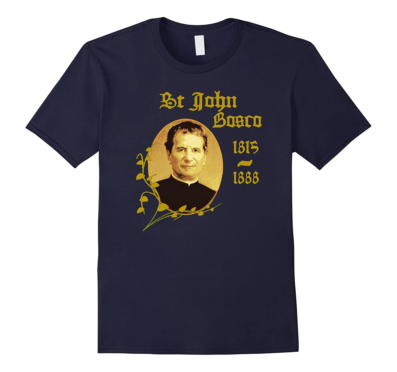 Saint John Bosco T-Shirt Catholic Saints-TH