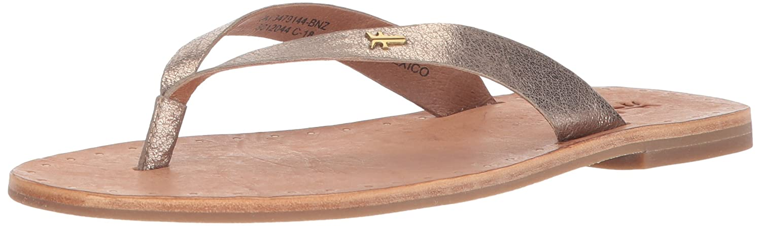 8ef48bae1 Amazon.com  FRYE Women s Ally Logo Flip Flop  Shoes