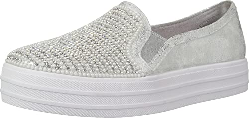 Skechers Kids' Double Up Shiny Dancer Sneaker