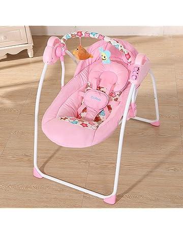 Docooler Cuna para bebé Columpio eléctrico Balanceo Control Remoto Silla Canasta de Dormir Cama Cuna para