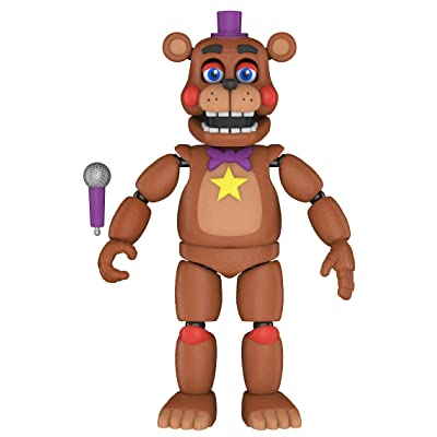 Funko Five Nights at Freddy's Pizza Simulator - Rockstar Freddy Collectible Figure, Multicolor: Toys & Games