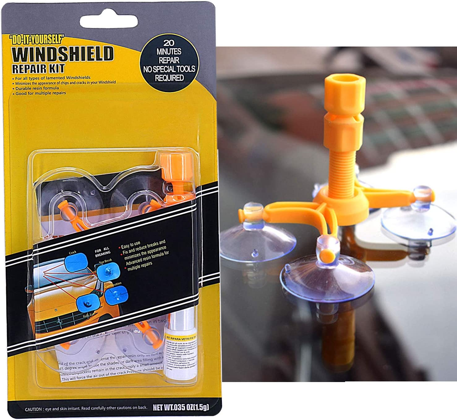 Quick Fix Windshield Chip Repair