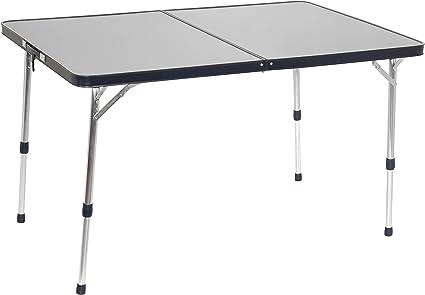 Crespo - Mesa de Camping (Estructura de Aluminio, 79 x 118 cm ...