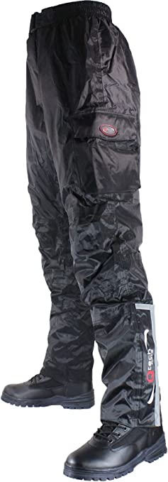 Noir Jambe R/éguli/ère Qtech Surpantalon//Pantalon dhiver de Moto Taille 54 Imperm/éable Livraison Gratuite 5XL Thermique et Isol/é