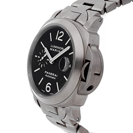 Amazon.com: Panerai Luminor Mechanical (Automatic) Brown Dial Mens Watch PAM 279 (Certified Pre-Owned): Panerai: Watches