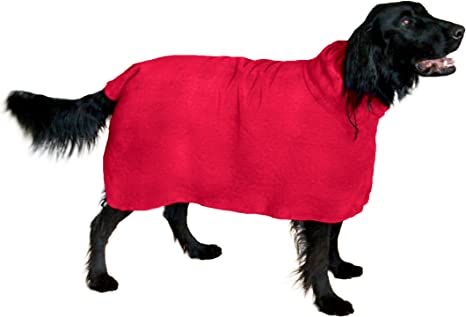 THE SNUGGLY DOG Easy Wear Dog Towel.