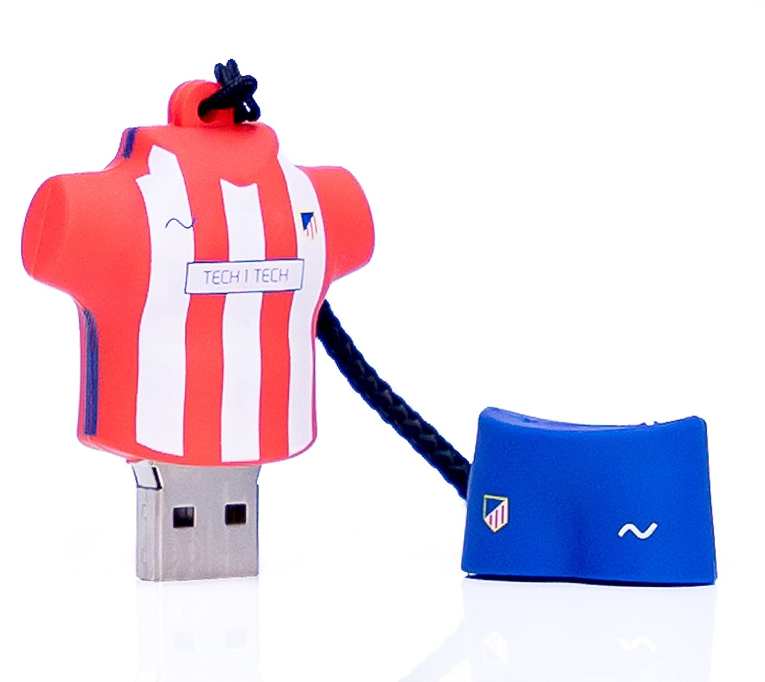 TECH1TECH TEC50236-16 16GB USB 2.0 Type-A Azul, Rojo, Color Blanco ...