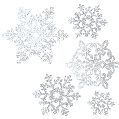 Snowflake Cutouts-20 Pack: Toys & Games