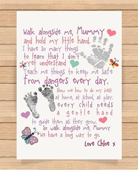Personalised Presents Gifts For Step Mum Mummy Mother Grandma Nanny Birthday Mothers Day Christmas Xmas Walk