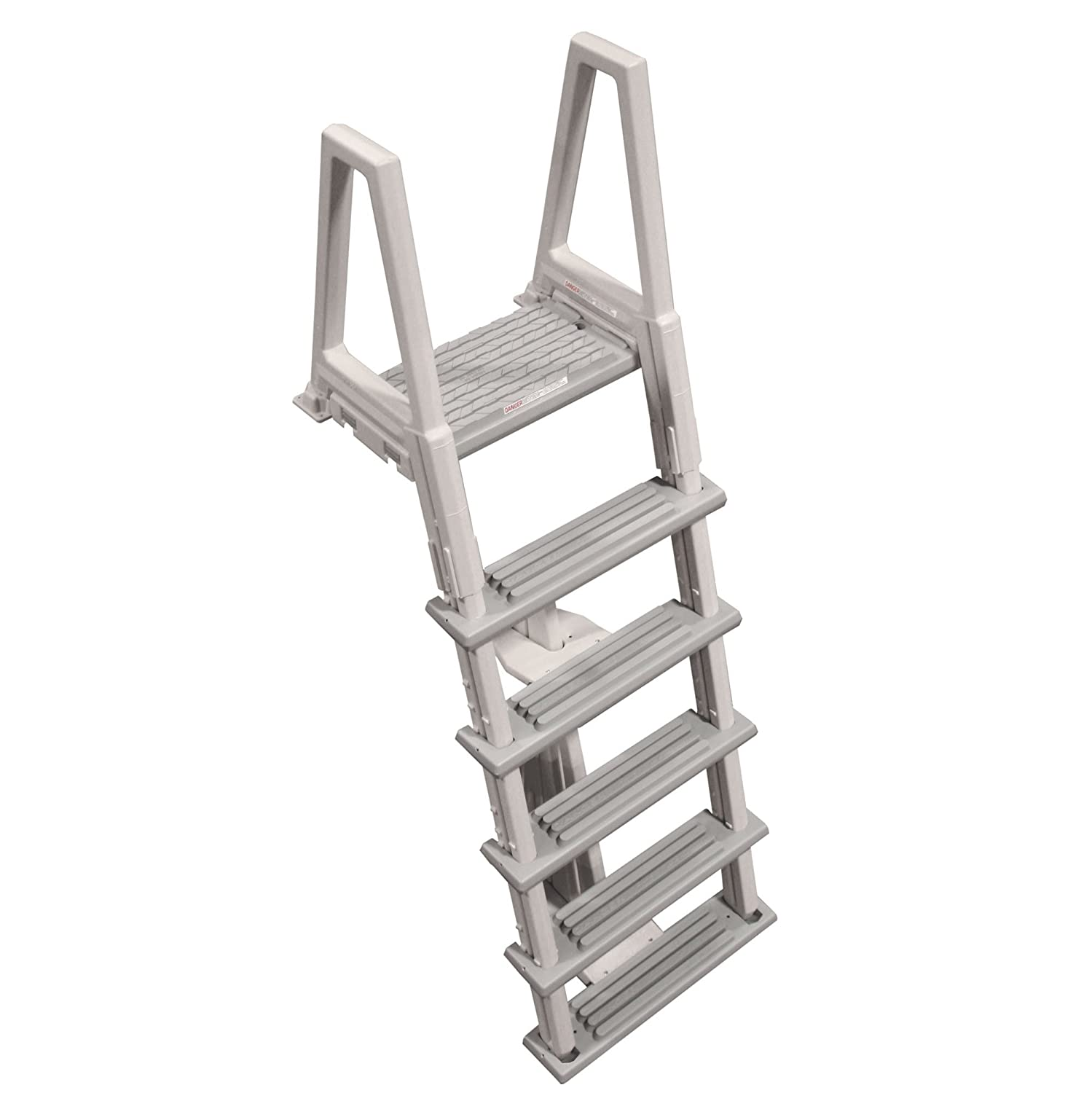 Above Ground Pool Ladders-Confer Above ground swimming pool In-Pool Ladder Deluxe Pool Ladder