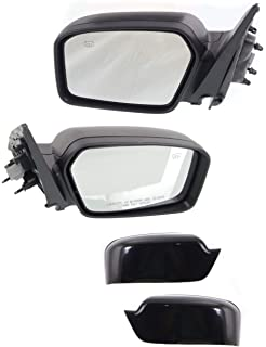 Mirror For 2003-2006 BMW X5 Right Side Manual Fold Heated Paintable With Memory