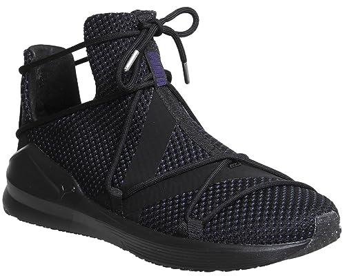 c3c62638142 Puma Women s Fierce Rope Velvet Vr WNS Black Multisport Training Shoes-8  UK India