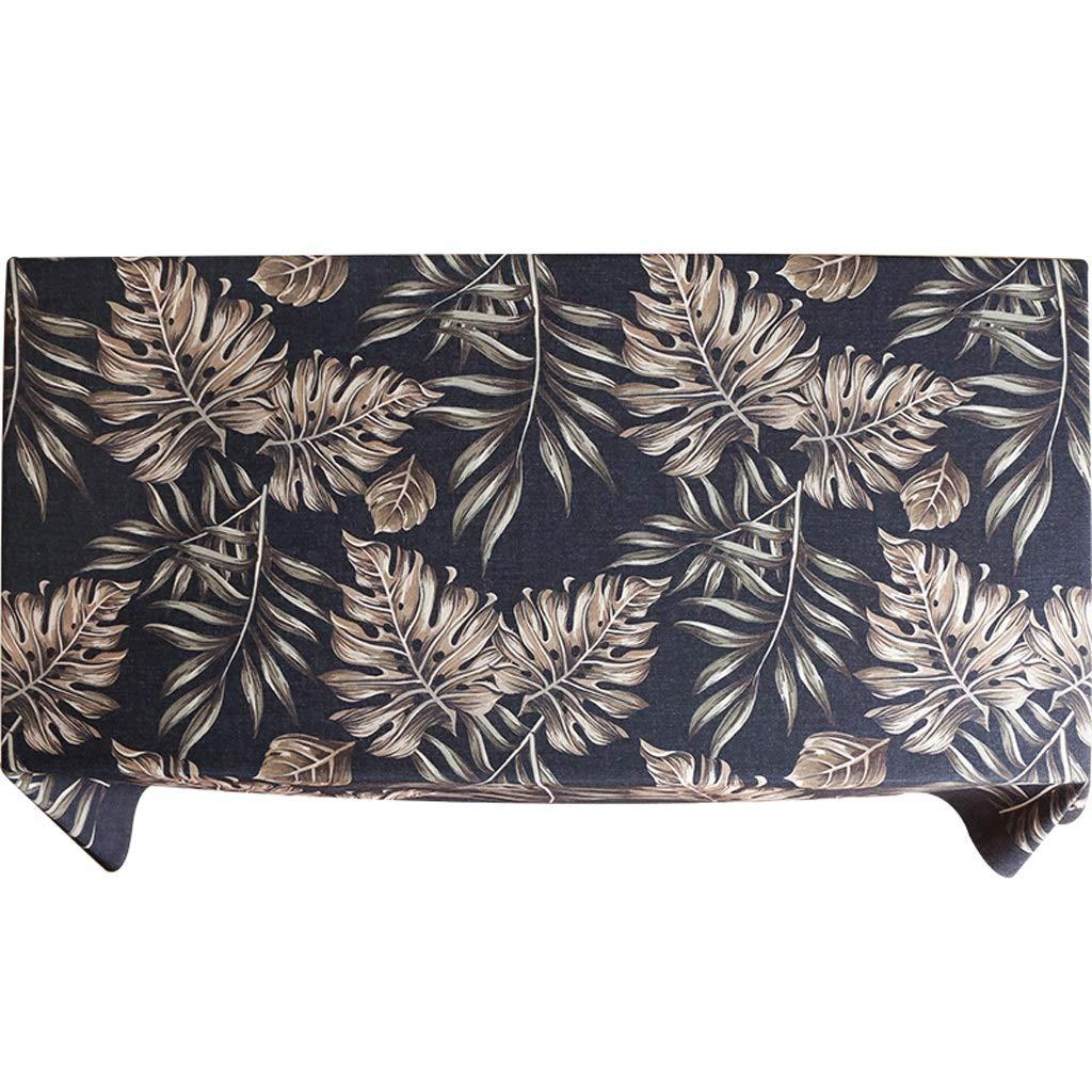 140200cm Nouveau gris foncé moderne minimaliste table à hommeger tissu nappe rectangulaire table basse restaurant couverture serviette tissu (taille   140  140cm)