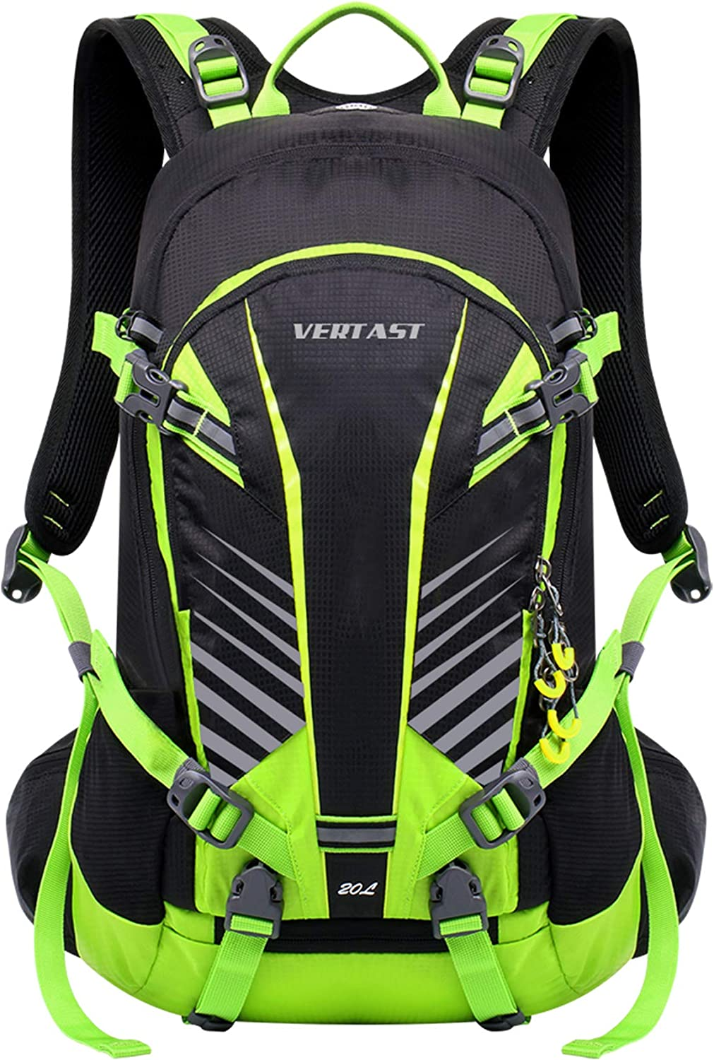 VERTAST 20L Lightweight Cycling Backpack Hydration Pack Waterproof Hiking Climbing Rucksack with Rain Cover