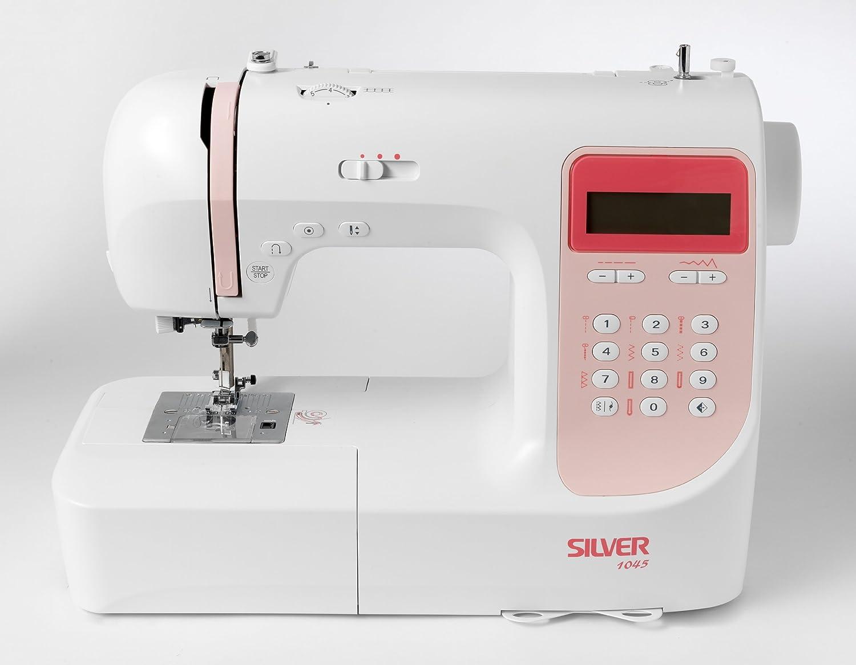 Silver Viscount 1045 Computerised Sewing Machine: Amazon.co.uk: Kitchen &  Home