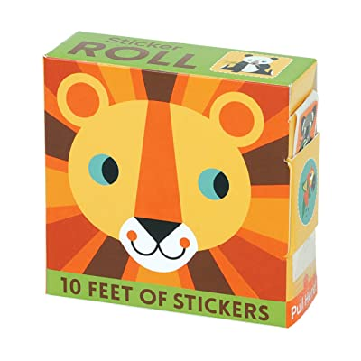 Animals of the World Sticker Roll: Mudpuppy, Blay, Amy: Toys & Games
