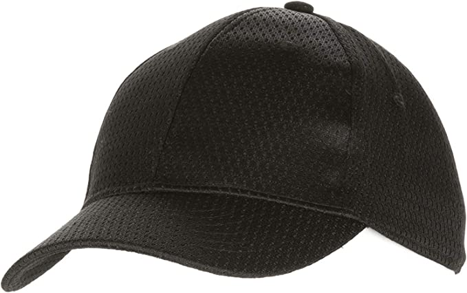 Colour by Chef Works Cool Vent Baseball Cap Black With Lime One Size Uniform