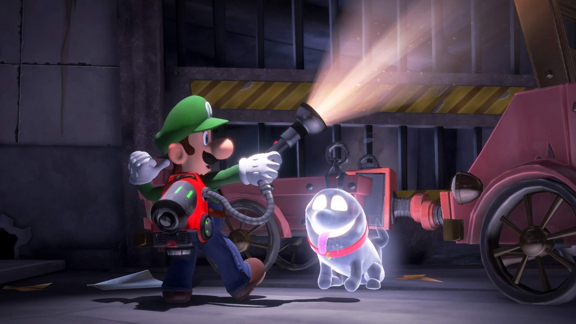 Luigi's Mansion 3 Standard Edition - Nintendo Switch by Nintendo (Image #4)