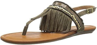 Report Womens Laufer Flat Sandal Tan Size 80