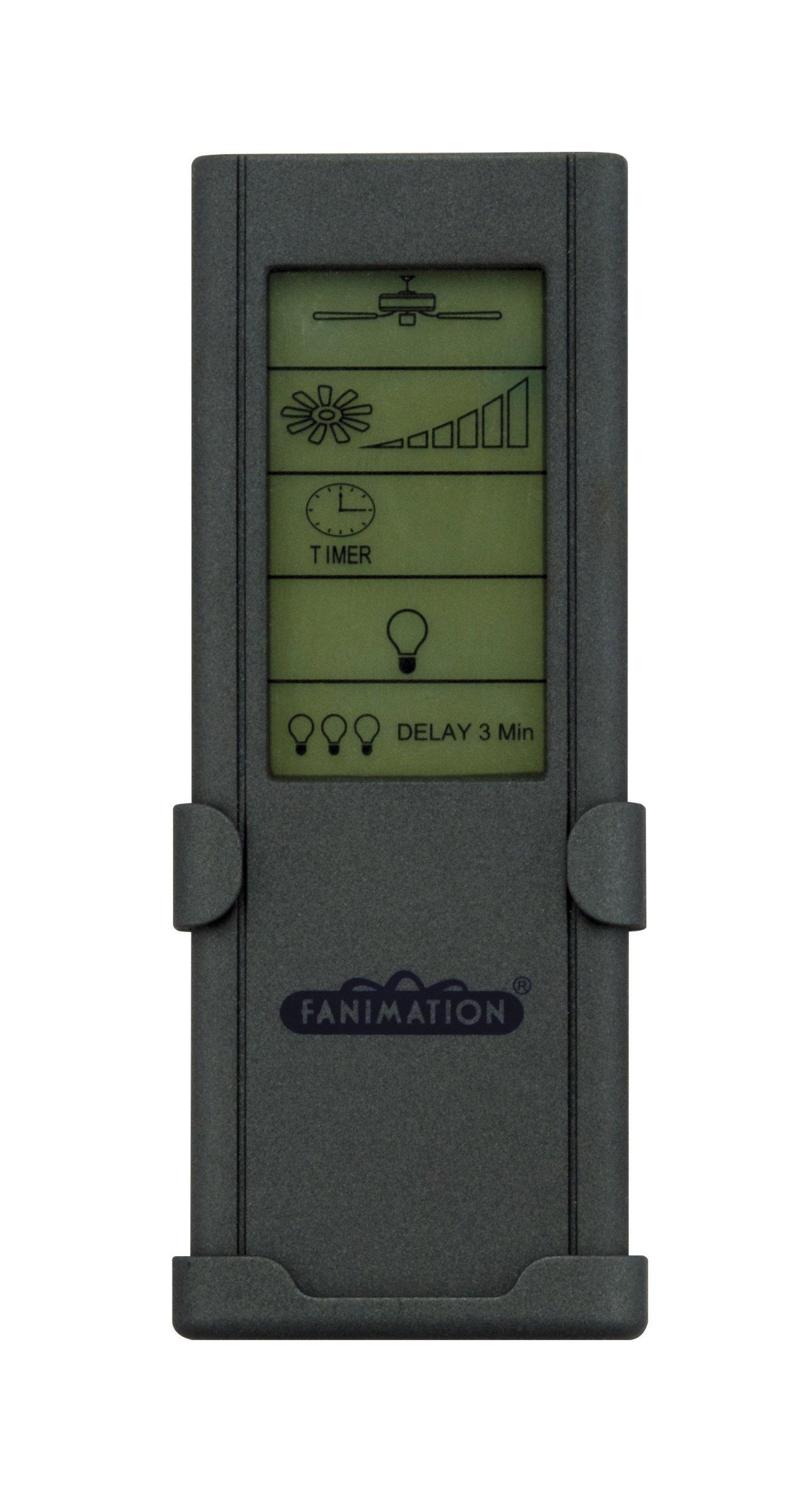 Fanimation CRL8TS Touch Screen Ceiling Fan Remote, 3-Speed/Non Reversing