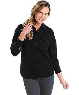 8d69249c Woolrich Women's Keystone Printed Chamois Shirt, Deep Indigo Multi ...
