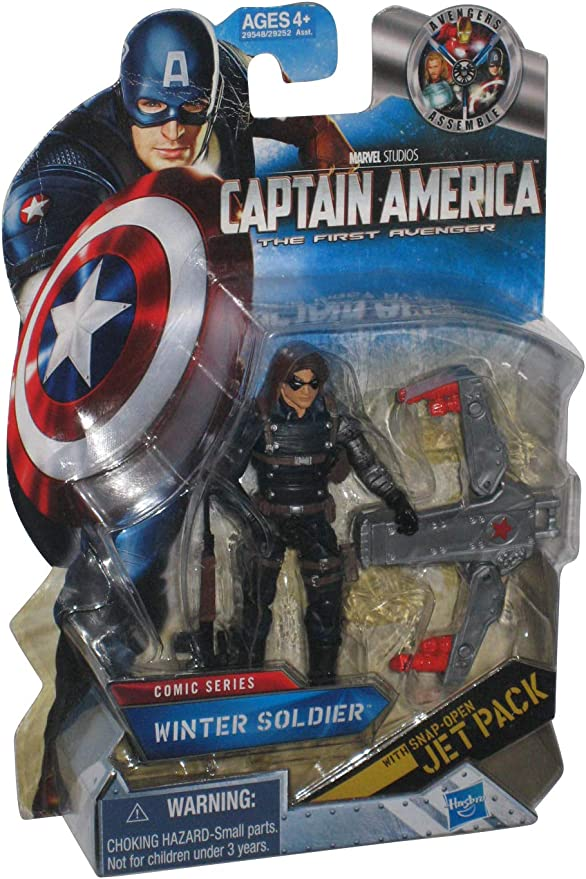 Captain America The First Avenger Action Figure - Winter Soldier ...