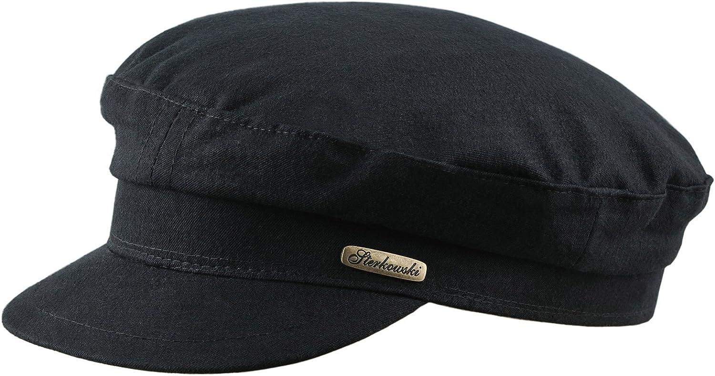 cappello stile marinaio in lino estivo Sterkowski
