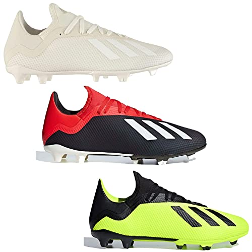 43a77fc4e8adf Adidas X 18.3 FG Firm Ground Football Boots Mens Soccer Shoes Cleats ...
