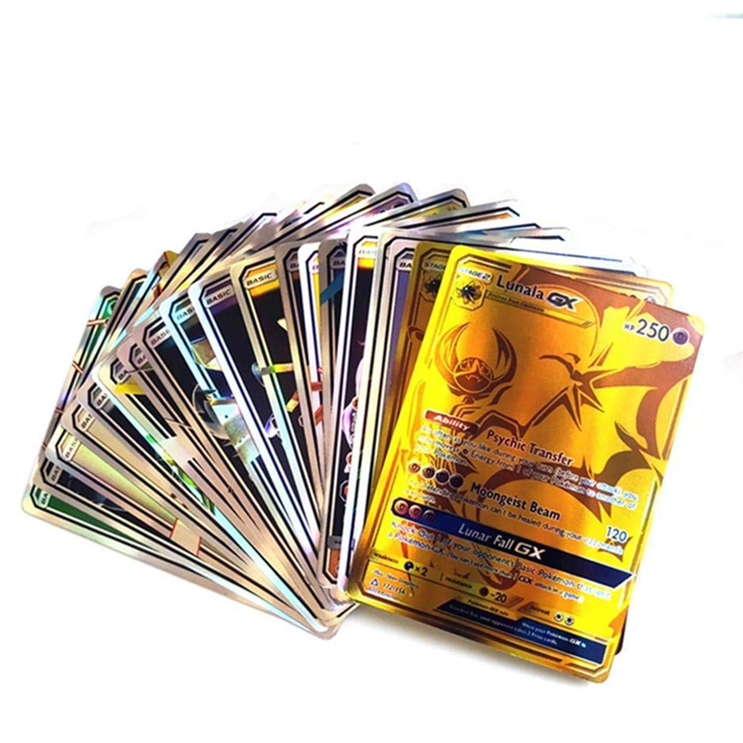 New tag Team 120 pcs Poke TCG Cards by MR.ZZ