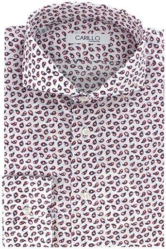 Camisa de Hombre Slim Fit 100% Puro algodón Modelo Sartorial ...