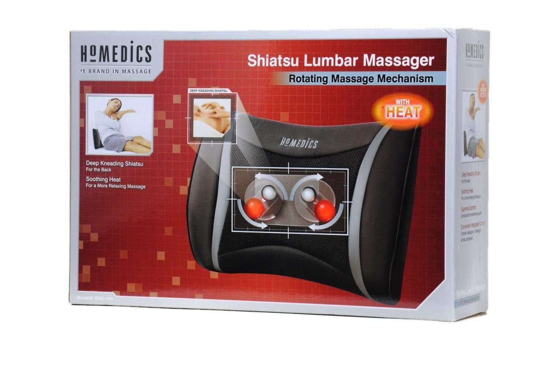 Homedics BKK-200 Shiatsu Lumbar Deep Kneading Massager