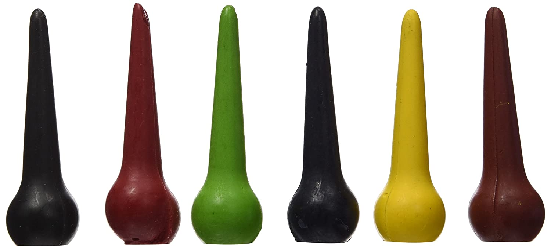 ökoNORM 70615 - Conos de cera ergonómicos [Importado de Alemania]