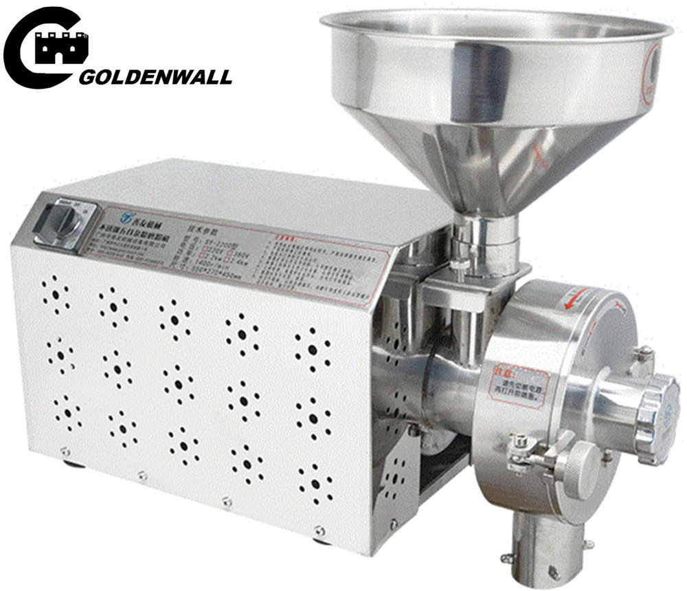 CGOLDENWALL SY-2200 Small Stainless steel grain mill Food Processing Machinery Multi Function Grain Grind Mill superfine grain grinderPowdering machineLapping machine (220V)