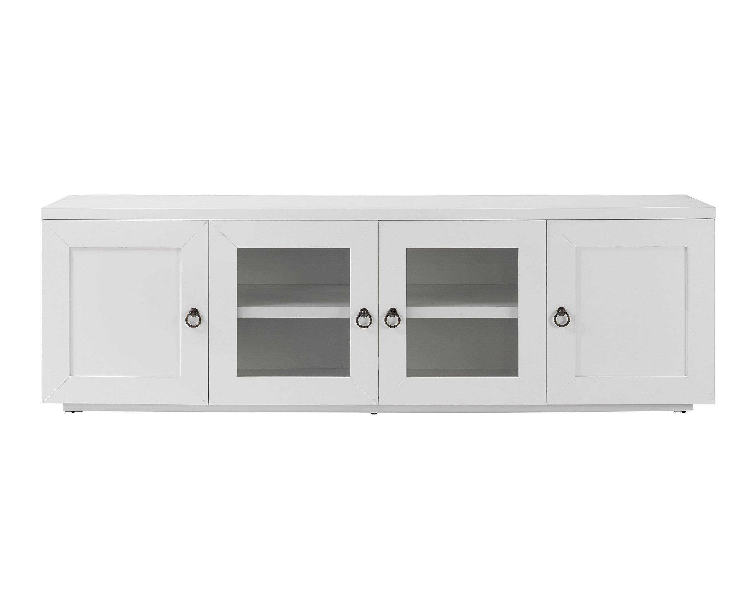 Whalen Furniture 72'' Tv Console, Pure White