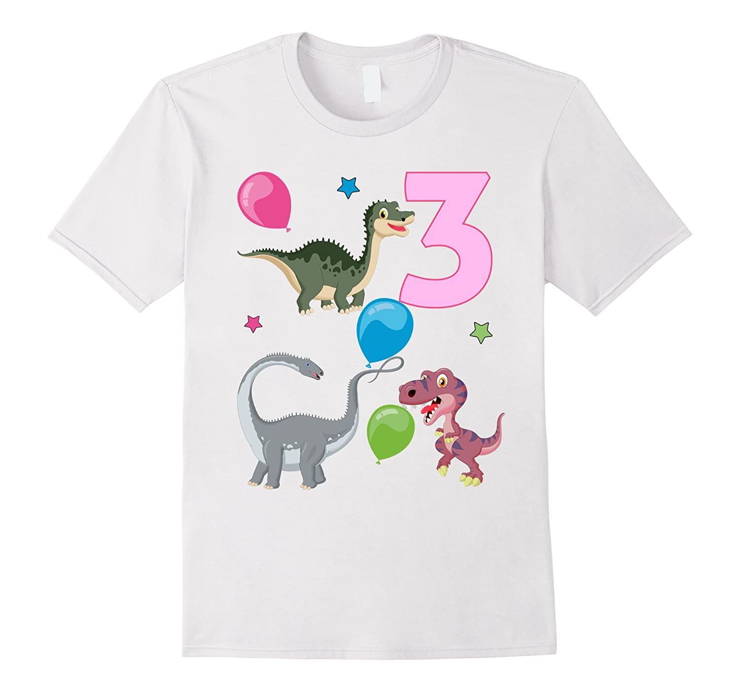 Dinosaur 3rd Birthday Cute Dinos Toddler T Shirt ANZ