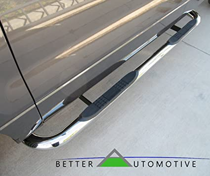 """Fit 1999-2016 Ford F250//350//450//550HD Super Crew Cab 4/"""" Nerf Bars Running Boards"""