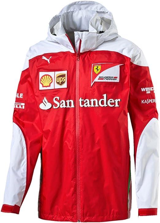Puma Herren Sf Scuderia Ferrari Formel 1 Team Jacke Bekleidung