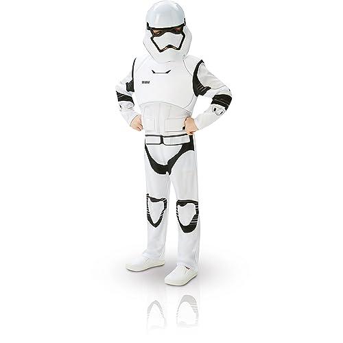 Star Wars, Disfraz de Villain Trooper, Episode 7, Deluxe para niños (Rubie's 62026), M (5/6 años)